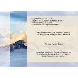 Entre ciel et montagne