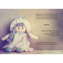 Sa poupée de chiffon