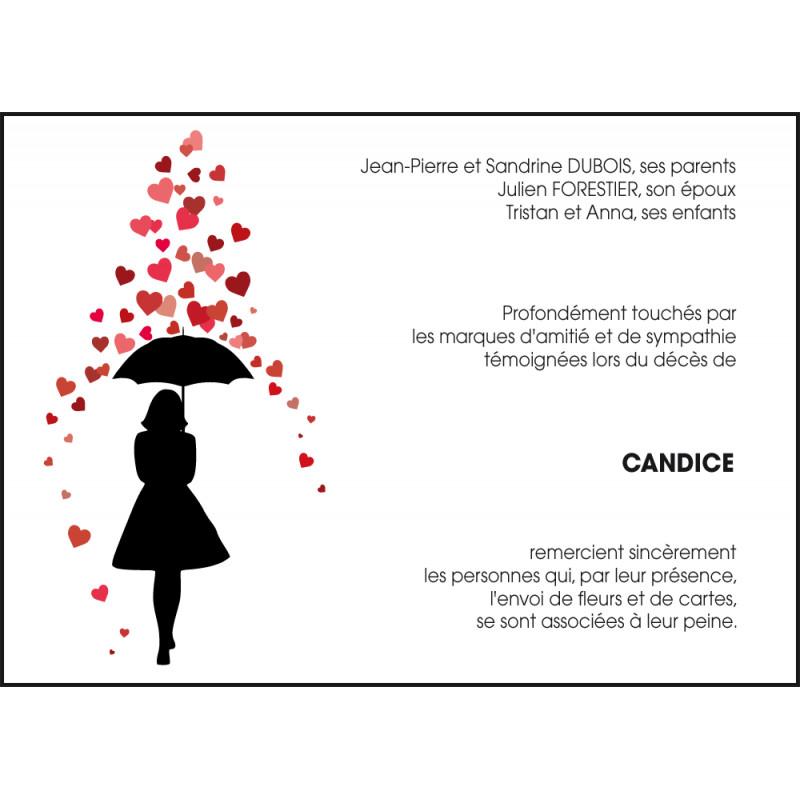 Parapluie et cœur