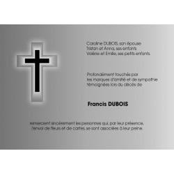 La croix qui brille