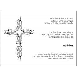 Croix travaillée